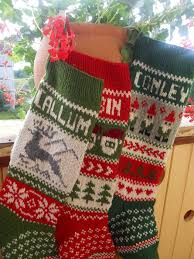 for 2014 knit with deer santa or gnomes