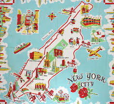 a map nyc york city most popular attractions map nyc attractions map