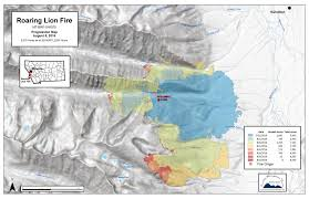 Bitterroot Mountains Map Montana Wildfire Roundup For August 12 2016 Mtpr