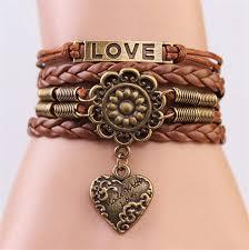 leather charm bracelet ebay images Bracelets ebay jewellery watches leather charm bracelets and jpg