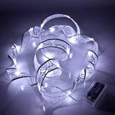 ribbon lights silver christmas ribbon led lights