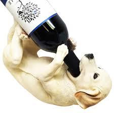 Wine Bottle Home Decor Amazon Com Kitchen Decor Labrador Retriever Dog Wine Bottle