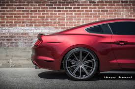 Matte Black Ford Mustang Red 2015 Ford Mustang On Bd 9 Gallery Ford Mustang Photos Mycarid