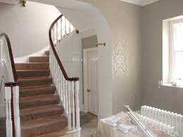 Stairs And Landing Ideas by Entrance Hall Pailton By Fletcher Decor Painters And Decorators