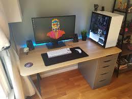 Gaming Desk Setup by 15174 Best Gaming Desk Images On Pinterest Gaming Desk Gaming