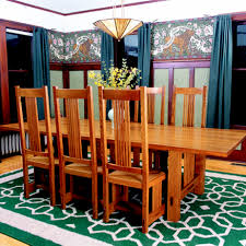 free dining room table plans free plan arts and crafts inspired chair finewoodworking