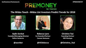 list please predict who the premoney sf 2017 the midas touch midas list investors predict