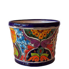 beauty mexican pottery design for garden accessories pots by