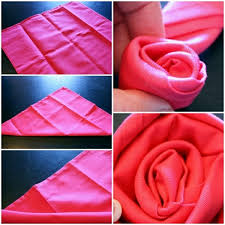 how to fold table napkins napkin folding beautiful table decorations in the dining room do