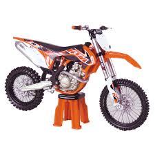 repliques de moto cross racetoys ktm 450 sx f 2015 miniatures de