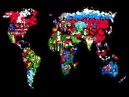world map wallpaper qygjxz