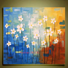 handpainted canvas wall art abstract painting modern acrylic