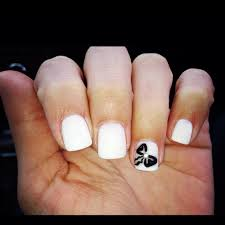 all white nail designs how you can do it at home pictures