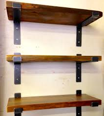 wall shelves wood wall shelves decor ideas steel and reclaimed shelf