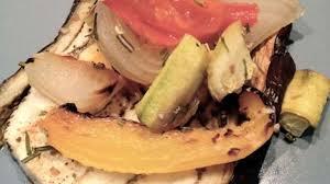 cuisiner des l馮umes sans mati鑽e grasse aubergines et légumes rôtis sans matière grasse recette par