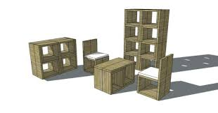 Free Woodworking Plans Build Easy by Free Woodworking Plans To Build A Stackable Cube Chair The