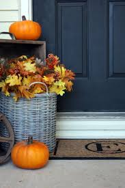 Pictures Of Front Porches Decorated For Fall - 15 cheap and cute fall front porch decorating ideas