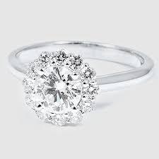 flower engagement rings best 25 flower rings ideas on