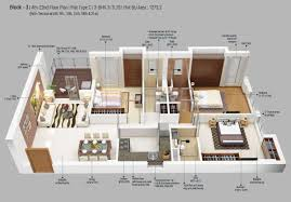 3 bhk 1273 sq ft apartment for sale in merlin 5th avenue at rs
