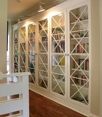 Glass Bookcase With Doors 30 Genius Ikea Billy Hacks For Your Inspiration Glass Doors