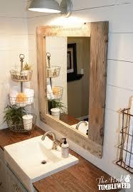 bathroom mirror ideas diy bathroom best 25 rustic mirrors ideas on pallet for