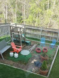 Swing Sets For Small Backyard by Backyards Mesmerizing Custom Made Space Saver Swing Set 58