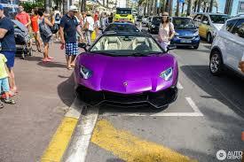 lamborghini aventador purple lamborghini aventador lp700 4 roadster 16 august 2016 autogespot
