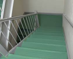 orbitread one piece rubber stair tread and riser combo by american