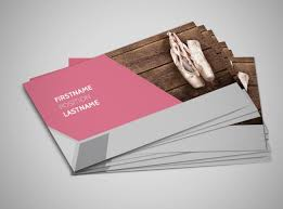 creative dance business card template mycreativeshop