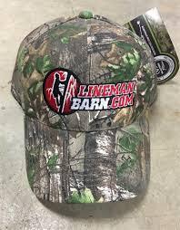 Lineman Barn Decals Lineman Barn Camo Hat