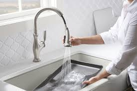 kohler faucets kitchen when it s time for a new kitchen faucet i turn to kohler