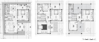 row house floor plan a sle of row house floor plan