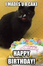 Cat Birthday Memes - image cake happy birthday cat meme jpg lego message boards wiki
