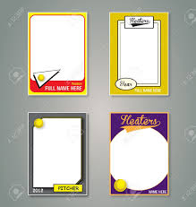 card business card template for pages baseball line up card