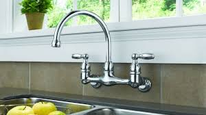 kitchen wall faucets wall mount kitchen faucets fascinating delta faucet 6 verdesmoke