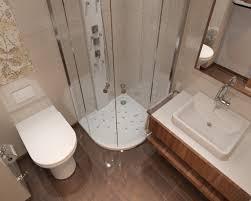 gestaltung badezimmer ideen kleine badezimmer ideen für gestaltung braun beige eckdusche