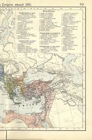Roman Map Ancient Map Of The Western Roman Empire
