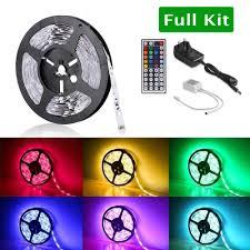 string of christmas lights 12v colour changing led strip light kit