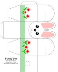 easter box easter bunny easter crafts for kids free box