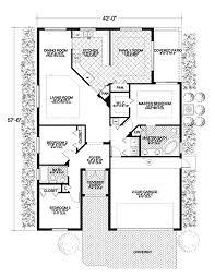 small ranch style house plans small santa fe style house plans spanish ranch home endear