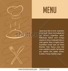 Designs Of Menu Card Menu Card Design Template Stock Vector 30724450 Shutterstock