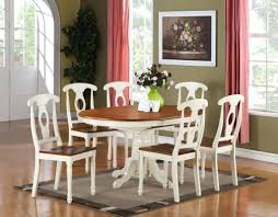 white dining room furniture stunning small oval dining table decorating dining room