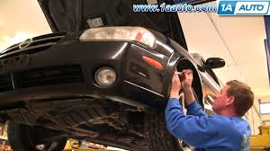 nissan sentra front bumper how to remove install front bumper cover 2000 03 nissan maxima