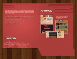 brochure template free folder templates