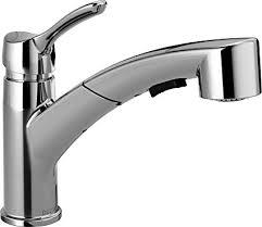 delta signature kitchen faucet chrome single handle pull out hd delta 4140 dst collins single handle pull out kitchen faucet with