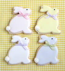 rabbit cookies how to make easter bunny and cookies sweetopia