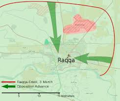 Us Commandos Enter Eastern Syria And Kill Senior Isis by Battle Of Raqqa March 2013 Wikipedia