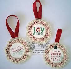 stampin u0027 up christmas ornament idea patty u0027s stamping spot