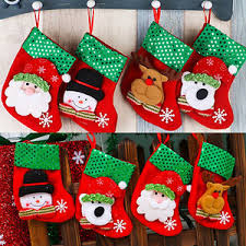 santa socks tree diy hanging ornaments festival