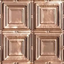 herald u0027s squares copper ceiling tile 24